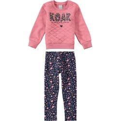 Conjunto Com Estampa & Matelassê Malwee Kids Rosa Claro - P found on Bargain Bro India from Malwee Malhas for $39.16