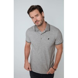 Camisa Polo Slim Piquê Malwee Cinza - P found on Bargain Bro Philippines from Malwee Malhas for $39.16