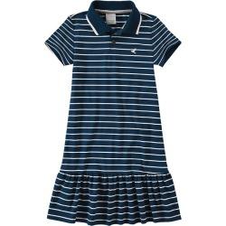 Vestido Peplum Listrado Menina Malwee Kids Azul Escuro - 4 found on Bargain Bro India from Malwee Malhas for $24.46