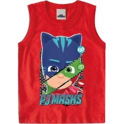 Regata Colagem Pj Masks® Menino Malwee Kids Vermelho - 2 found on Bargain Bro India from Malwee Malhas for $9.76