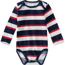 Body Listrado Infantil Malwee Azul - P found on Bargain Bro Philippines from Malwee Malhas for $19.56