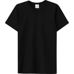 Camiseta Preta Meia Malha Malwee Kids Preto - 3 found on Bargain Bro Philippines from Malwee Malhas for $14.66
