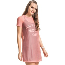 Vestido tule com forro Malwee Liberta Rosa Claro - M found on Bargain Bro Philippines from Malwee Malhas for $39.16