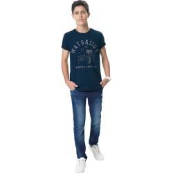 Calça Jeans Slim Menino Malwee Kids Azul Escuro - 3 found on Bargain Bro India from Malwee Malhas for $39.16