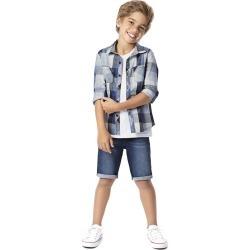 Camisa Xadrez Unissex Menino Malwee Kids Azul Claro - 2 found on Bargain Bro India from Malwee Malhas for $24.46