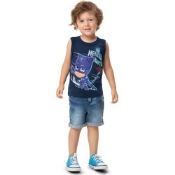 Regata Menino Gato® Malwee Kids Azul - 2 found on Bargain Bro India from Malwee Malhas for $14.66
