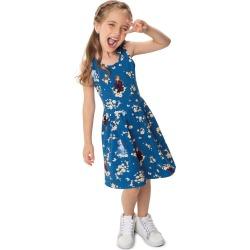 Vestido Frozen® Cotton Malwee Kids Azul - 10 found on Bargain Bro India from Malwee Malhas for $24.46