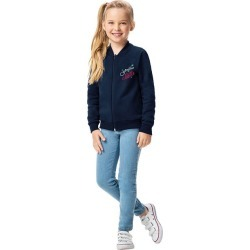Jaqueta Princesa Bella® Em Moletom Malwee Kids Azul Escuro - 2 found on Bargain Bro India from Malwee Malhas for $39.16