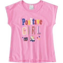 Blusa Mullet Estampa Detalhe Glitter Infantil Malwee Kids Rosa Claro - M found on Bargain Bro India from Malwee Malhas for $6.33
