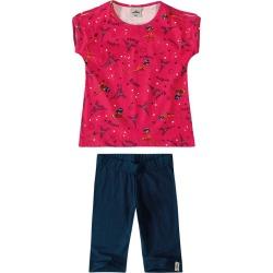 Conjunto Ladybug® Menina Malwee Kids Vermelho - 6 found on Bargain Bro India from Malwee Malhas for $24.46