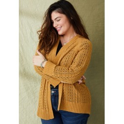Maurices Plus Size Womens Matte Chenille Cardigan