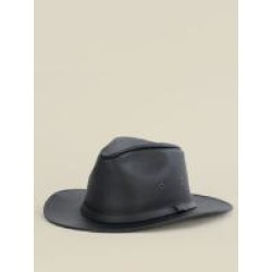 Wilsons Leather Crushable Safari Leather Hat