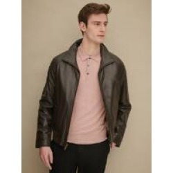 Brian Leather Jacket with Zip-out Thinsulate� Lining found on Bargain Bro from Wilson's Leather for USD $205.19