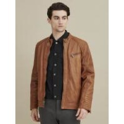 Caleb Quilted Leather Jacket