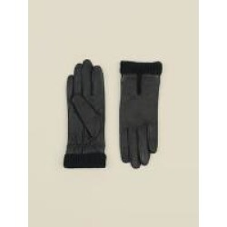 Women's Knit Cuff Leather Glove found on Bargain Bro from Wilson's Leather for USD $30.39