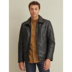 Thinsulate™ Lined Leather Jacket