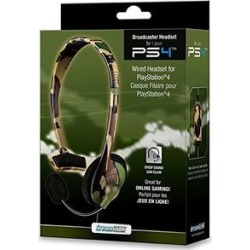 DreamGear Broadcaster Wired Headset: Camo for PlayStation 4