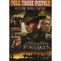 Pull Those Pistols Western Triple Feature (Forsaken/Brimstone/Wild   Horses