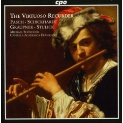 Virtuoso Recorder: Concertos of the German Baroque found on Bargain Bro India from Deep Discount for $15.11