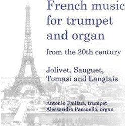 French Music for Trumpet & Organ from 20th Century