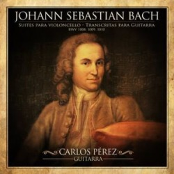 Johann Sebastian Bach: Cello Suites Transcribed For Guitar found on Bargain Bro India from Deep Discount for $19.99