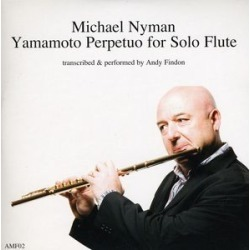 Michael Nyman Yamamoto Perpetuo for Solo Flute found on Bargain Bro India from Deep Discount for $13.06
