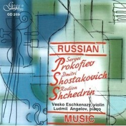 Russian Music for Violin & Piano