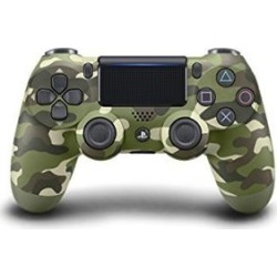 Dualshock 4 Wireless PS4 Controller: Green Camo for Sony Playstation 4
