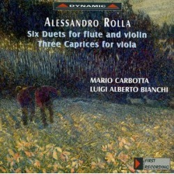 Six Duets for Flute & Viola / Three Caprices for