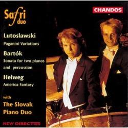 Sonata for 2 Pianos & Percussion