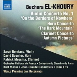 Violin Horn & Clarinet Cons