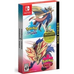 Pok�mon Sword and Pokemon Shield Double Pack for Nintendo Switch