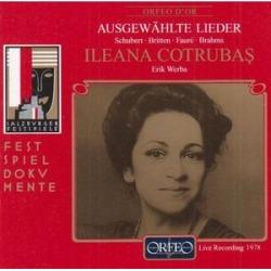 Selected Lieder: Schubert, Britten, Faure, Et Al