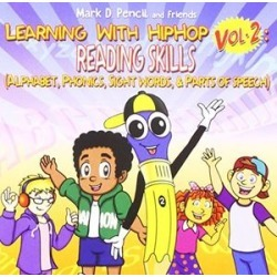 Learning With Hip Hop, Vol. 2: Reading Skills (Alphabet, Phonics,Sight Words, And Parts Of Speech)