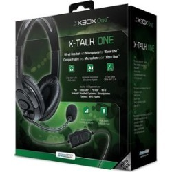 DreamGear X-Talk Wired Headset: Black for Xbox One