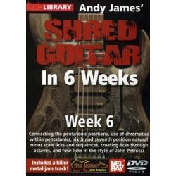 Andy James Shred Guitar in 6 Weeks-Week 6