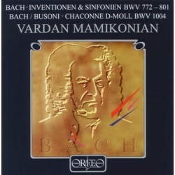 Bach Inventions & Sinfonias: BWV 772-801