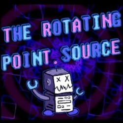 Rotating Point Source