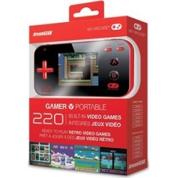 My Arcade Gamer V: Portable Gaming System - Red/Black
