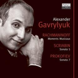 Moments Musicaux / Piano Sonata 5 / Piano Sonata 7