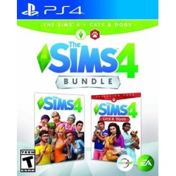 Sims 4: Plus - Cats & Dogs Bundle for PlayStation 4