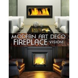 Modern Art Deco Fireplace Vision found on Bargain Bro Philippines from Deep Discount for $12.08
