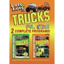 Lots And Lots Of Trucks For Kids: 2 Complete Programs!