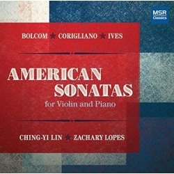 American Sonatas for Violin & Piano