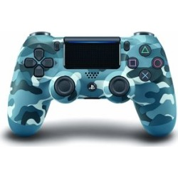 Sony DualShock 4 Wireless Controller: Blue Camo for PlayStation 4
