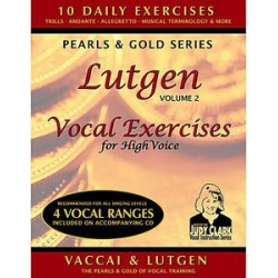 Lutgen Vocal Exercises for High Voice 2