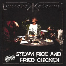 Steam Rice And Fried Chicken