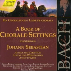 Book of Chorale Settings for Advent & Christmas