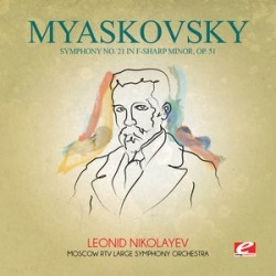 Myaskovsky: Symphony No 21 in F-Sharp minor Op 51 found on Bargain Bro Philippines from Deep Discount for $8.58