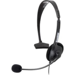 DreamGear Broadcaster Wired Headset - Black (IMPORT)